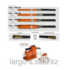 Vibrator deep epk-1300/51 + flexible shaft of 3 m