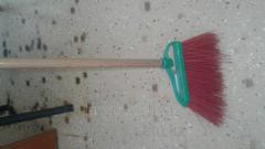 Broom brush + shank