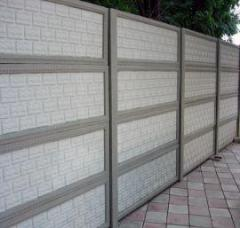 Ограды железобетонные в Атырау