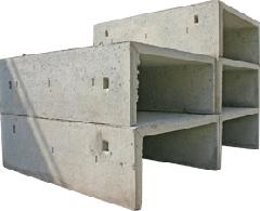 Trays reinforced concrete L-11-3