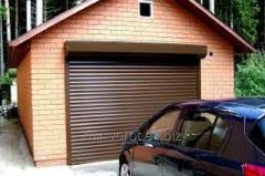 Rolling shutters for garage from the World of Gate