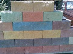 Stone wall broken 390kh190kh188mm
