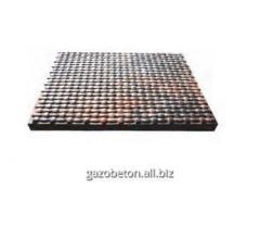 Плитка тротуарная Коврик белая, размер 350х350х40