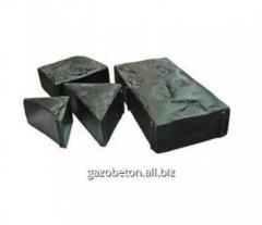 Gray paving slabs of Parket-Bulyzhnik, dobor of