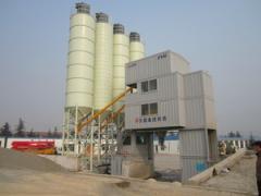 Concrete-mixing nodes, concrete mixing plants