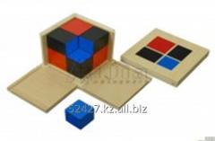 Binomial cube.