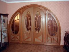 Doors arch in Almaty