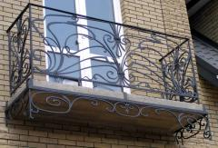 Protections of balconies, protections of ladders