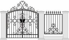 Gates metal to order, Metal gates