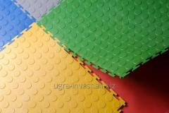Floor coverings made of PVC