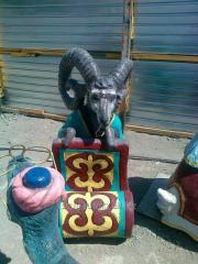 Скульптура животных из бетона в Алматы