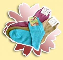 Women's socks, from the thinnest shortened