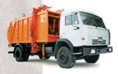 The garbage truck with side loading of KO-449-01