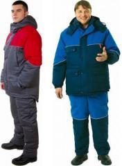 Спецодежда для защиты от низких температур