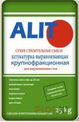 ШТУКАТУРКА крупнофракционная Alit 25 кг.