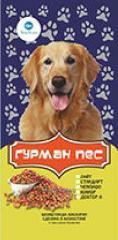 GOURMET DOG of AQUA Korm dry dog food