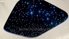 """Stretch ceilings """"Star sky"""" with"""