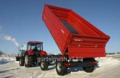 Biaxial trailer