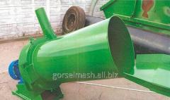 Straw cutter grinder of hay and straw