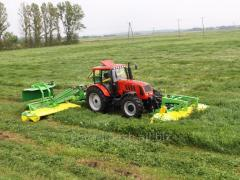 Mower KDF 260,  300,  390 series,  hinged...