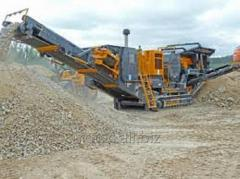 Crushing and sorting equipmen
