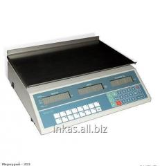 Scales electronic desktop with the Mercury 313