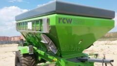 Spreader of fertilizers and RCW 8200 lime (tape