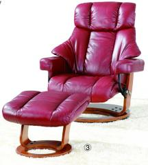 Head's chair, leather chair