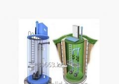 KNS Ecolead sewer pump station