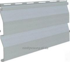 Oak panel siding gray