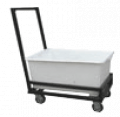 Carts for linen, the TMB series