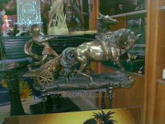 Sculptures from bronze