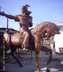 Statues from bronze to order