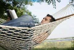 The hammock is double