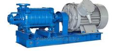 Pump centrifugal multistage section (TsNS) and