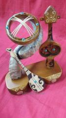 The Kazakh souvenirs in Almaty