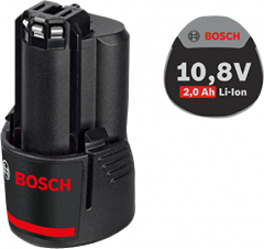 Li-Ion 10,8 B rechargeable battery; 2,0 Ach for