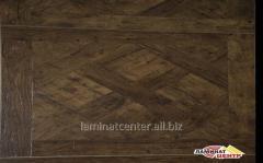 Laminate of 12 mm No. SYS-01 Oak Antique