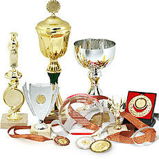Prize production - cups, figurines, medals, badges