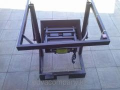 The machine for production of a peskoblok the