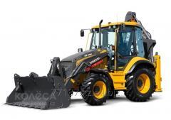 Volvo BL71B excavator loader
