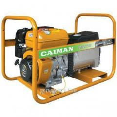 Бензиновый генератор + сварочный аппарат CAIMAN MIXTE 7000