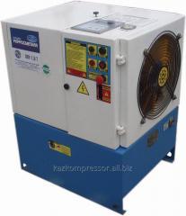 Compressor screw VVU-1/7 installation