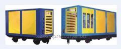 Installation compressor mine mobile UKVSh-7,5/7 U1