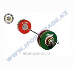 Bar of IWF of wives. 185 kg sorevn. tsvet.iwf002