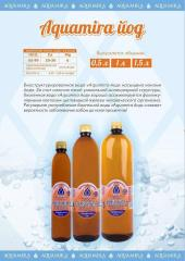 The biostructured Aquamira water l iodine 1