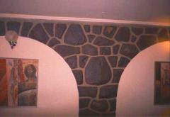 Камень природный плитняк,златалит