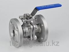 Crane sharovy Du of 15 Ru, flange from stainless