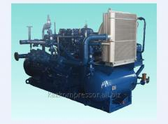 Installation compressor piston gas GSh 1-3/2-4/7
