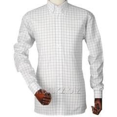 Laksen Mark oxford che shirt (7673, XL, Violet